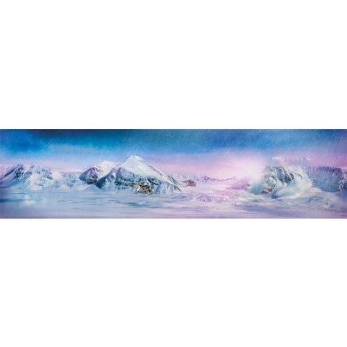 Star Wars Daybreak on Hoth by Rich Davies Gallery-Wrapped Canvas Giclee Art Print