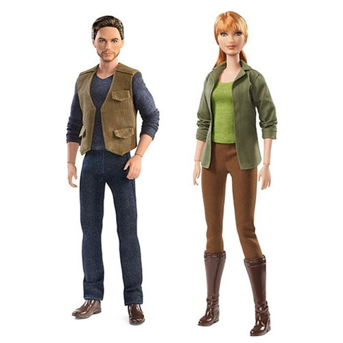Jurassic World: Fallen Kingdom Barbie Doll Case