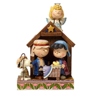 Peanuts Traditions Christmas Pageant Statue