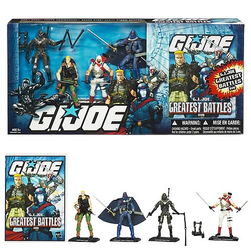 G.I. Joe Greatest Battles DVD Action Figure Pack