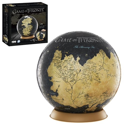Game of Thrones Westeros and Essos 9-Inch Globe Puzzle