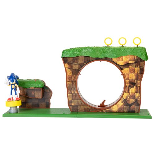 Sonic the Hedgehog Green Hill Zone Playset