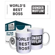 The Office Dunder Mifflin World's Best Boss 11 oz. Mug