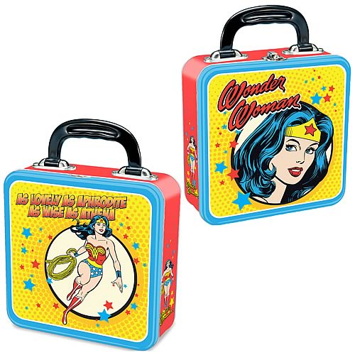Wonder Woman Square Tin Tote