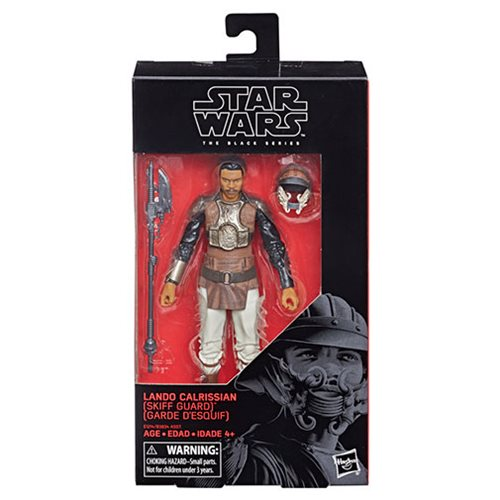 Star Wars The Black Series Lando Calrissian (Skiff Guard) 6-Inch Action Figure