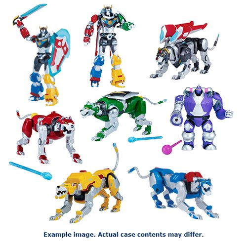 Voltron: Legendary Defender Basic Action Figure Wave 1 Case