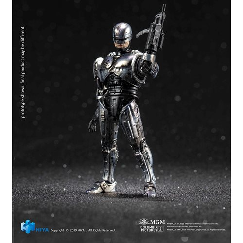 RoboCop 3 Battle Damage RoboCop 1:18 Scale Action Figure - Previews Exclusive