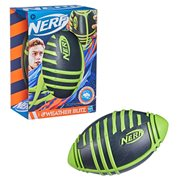 Nerf Weather Blitz Black and Green Foam Football
