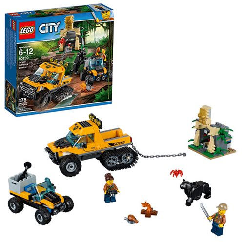 LEGO City Jungle 60159 Jungle Halftrack Mission