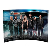 Big Bang Theory The Group Curved Glass StarFire Print