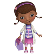 Doc McStuffins Giant Peel and Stick Wall Decal