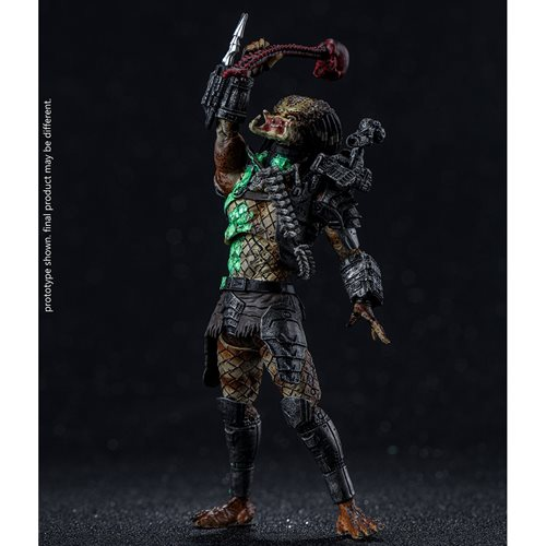 Predator Battle Damage Jungle Predator 1:18 Scale Action Figure - Previews Exclusive