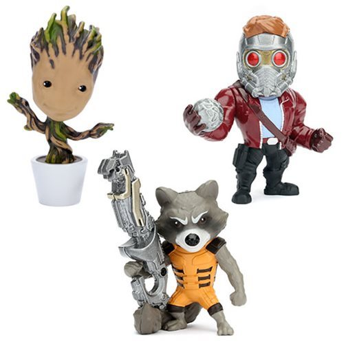Guardians of the Galaxy 4-Inch Metals Figure Wave 1 Case