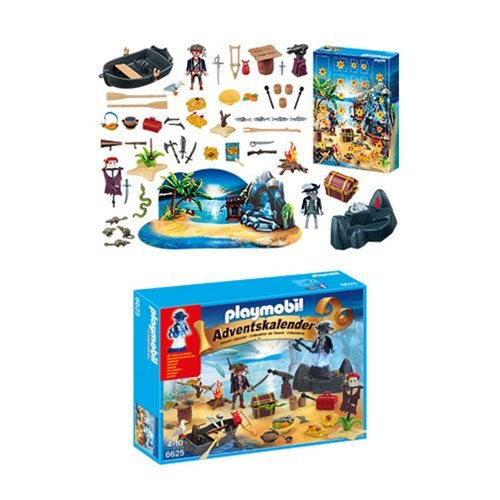 Playmobil 6625 Advent Calendar Pirate Treasure Island