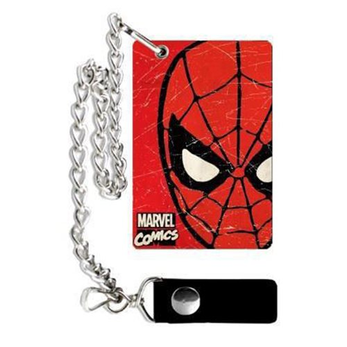 Marvel Spiderman Weathered Wallet