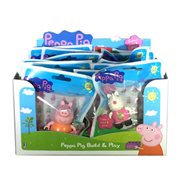 Peppa Pig Construction Mini-Figure Display Pack Case