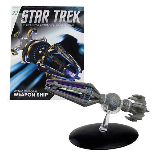 Star Trek Starships Krenim Temporal Weapon with Collector Magazine