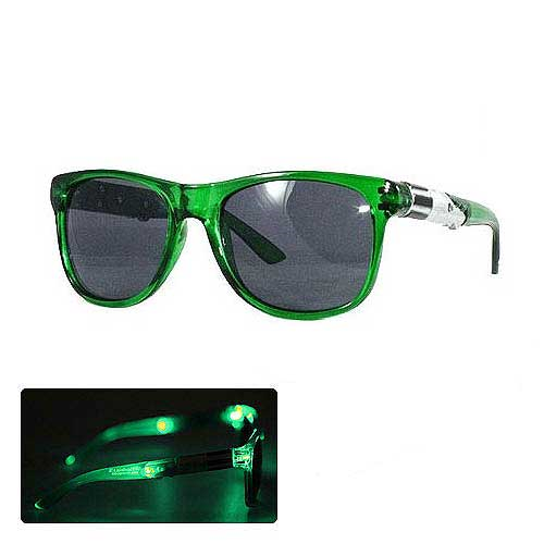 Star Wars Green Lightsaber Light-Up Adult Sunglasses