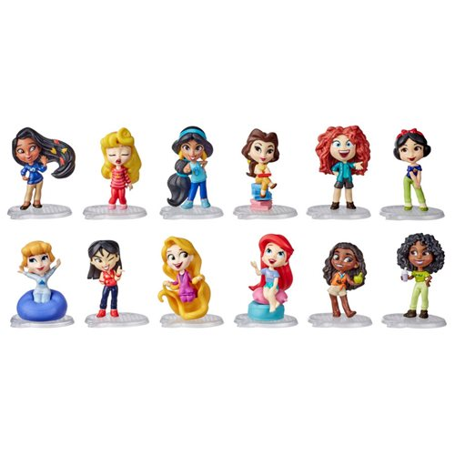 Disney Princess Comics Minis Comfy Squad Small Doll Collection Pack
