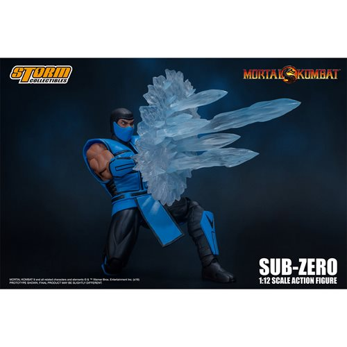 Mortal Kombat 3 Sub-Zero 1:12 Scale Action Figure