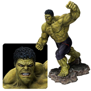 Avengers Age of Ultron Hulk Action Hero Vignette 1:9 Scale Pre-Assembled Model Kit