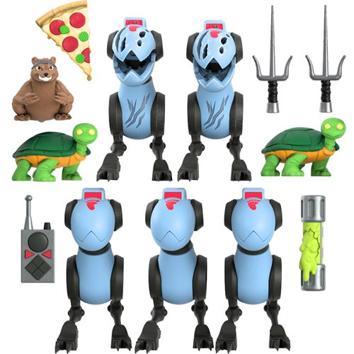 TMNT Ultimates Mousers 5-Pack 7-Inch Scale Action Figures