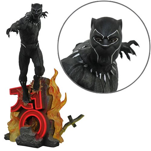 Marvel Premier Black Panther Movie Statue