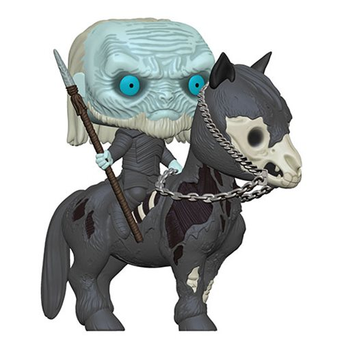 Game of Thrones White Walker on Horse Pop! Vinyl Vehicle, Not Mint