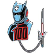 Power Rangers Space Patrol Delta Shadow Ranger Lapel Pin Set