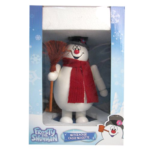 Frosty the Snowman 10-Inch Nutcracker