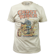 Ghost Rider Hell on Wheels White T-Shirt