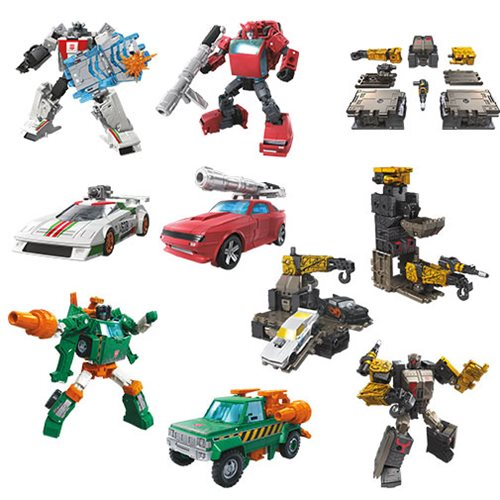 Transformers Generations War for Cybertron: Earthrise Deluxe Wave 1 Case