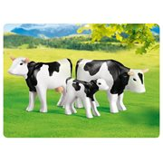 Playmobil 7892 2 Black Cows with Calf