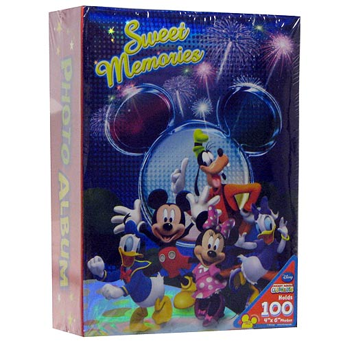 Mickey Mouse and Friends Sweet Memories Small Photo Album