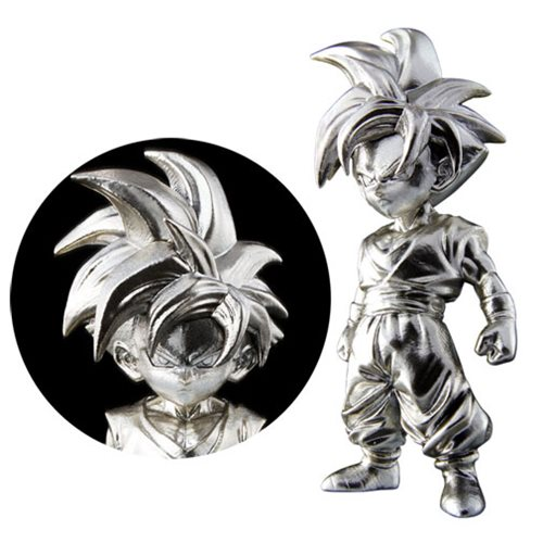 Dragon Ball Z Super Saiyan Son Gohan Absolute Chogokin Die-Cast Metal Mini-Figure