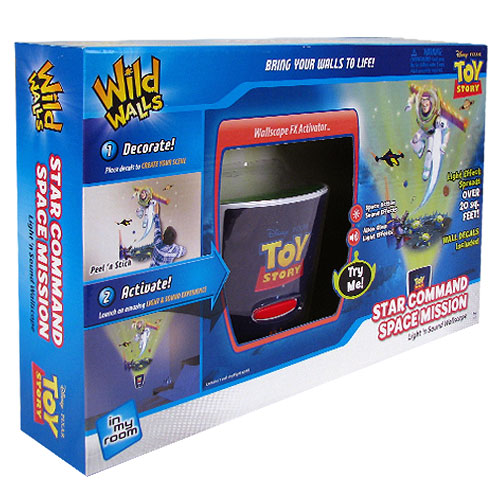 Toy Story Star Command Space Mission Night Light with Sound