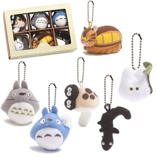 My Neighbor Totoro Collector Key Chain Set - Entertainment Earth 1a18fe35f8dd8