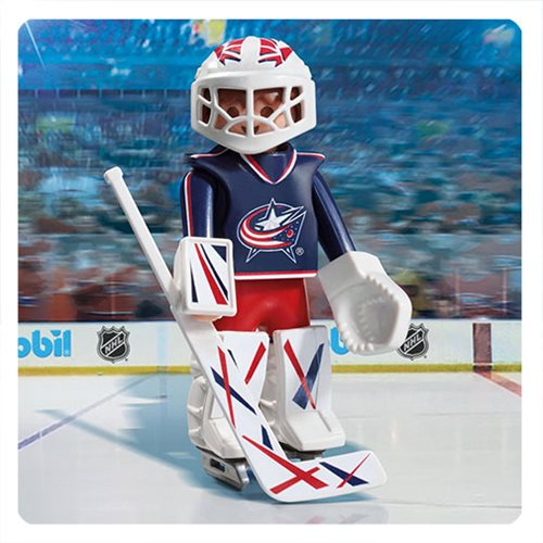 Playmobil 9201 NHL Columbus Blue Jackets Goalie Action Figure