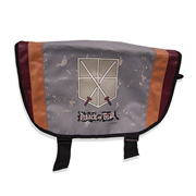 Attack on Titan Trainee Squad Gray Messenger Bag