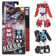 Transformers Generations War for Cybertron: Siege Micromaster WFC-S19 Red Heat and Stakeout
