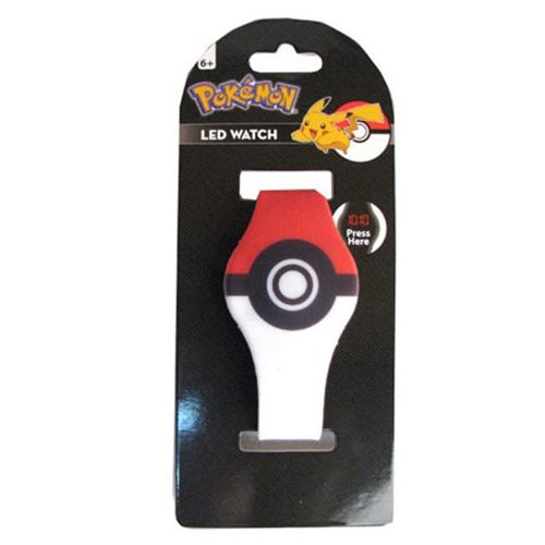 Pokemon Pokeball LED Watch