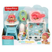 Little People Babies Snack & Snooze Playset