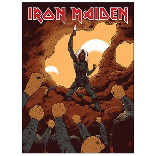 Iron Maiden To Tame a Land by Arik Roper Art Print