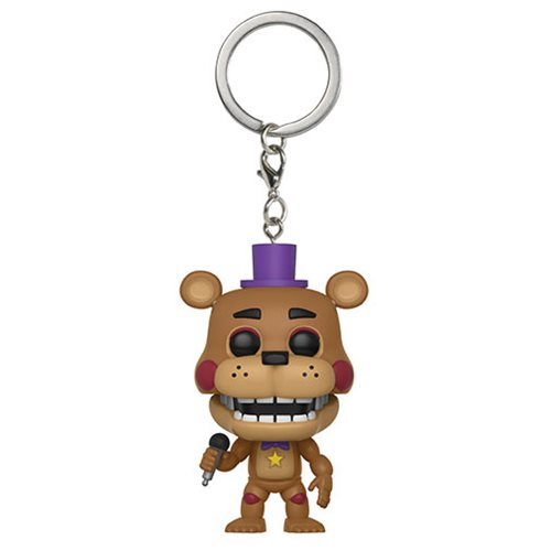 Five Nights at Freddy's: Pizza Simulator Rockstar Freddy Pocket Pop! Key Chain