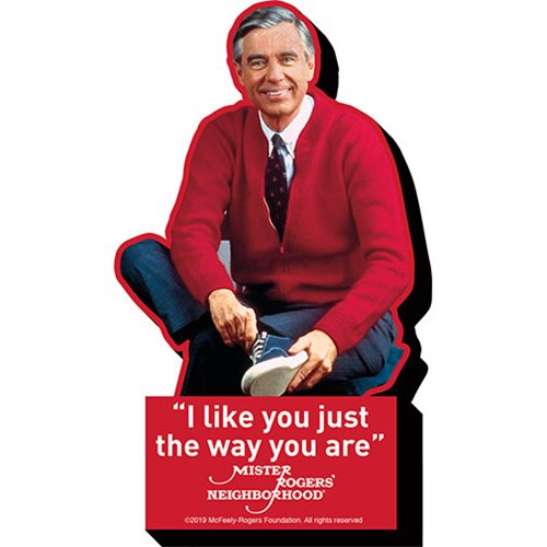 Mr. Rogers I Like You Funky Chunky Magnet