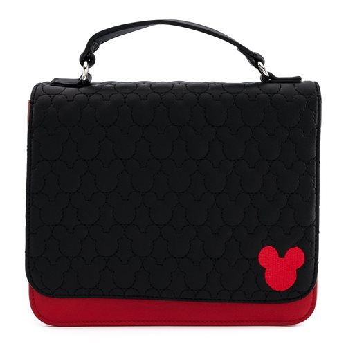 Mickey Mouse Quilted Oh Boy! Crossbody Purse