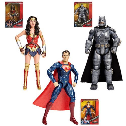 Batman v Superman: Dawn of Justice Multiverse 12-Inch Wave 3 Action Figure Case