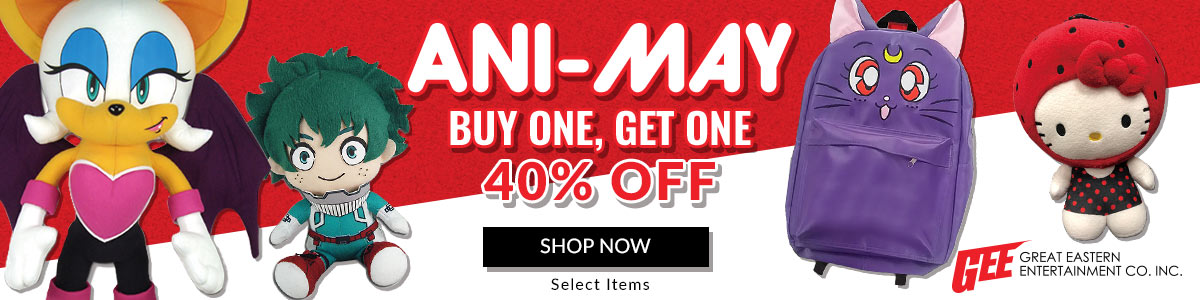 Ani-May Sale! Buy One, Get One 40% Off Select Great Eastern Items