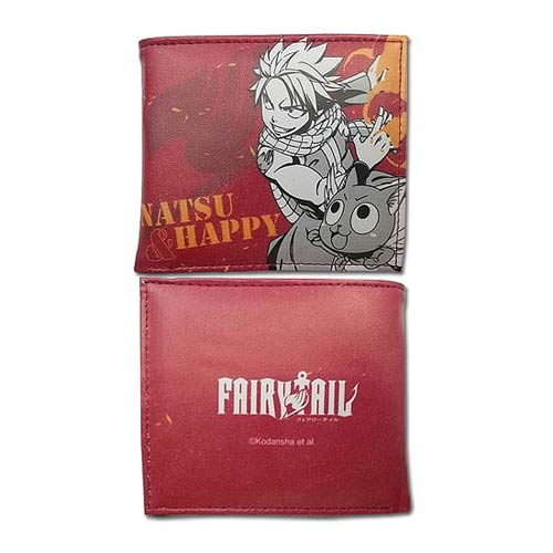 Fairy Tail Natsu and Happy Wallet