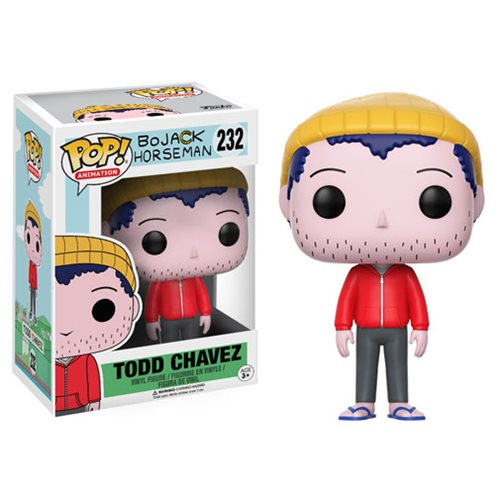 BoJack Horseman Todd Pop! Vinyl Figure, Not Mint